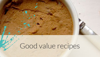 Good value recipes