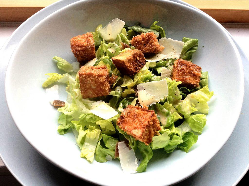 Breadfruit Caesar Salad