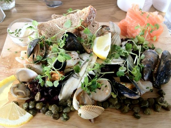 Belfast Barge Seafood Platter
