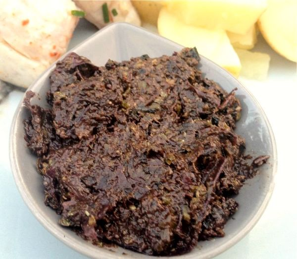 Dulse and Olive Tapenade