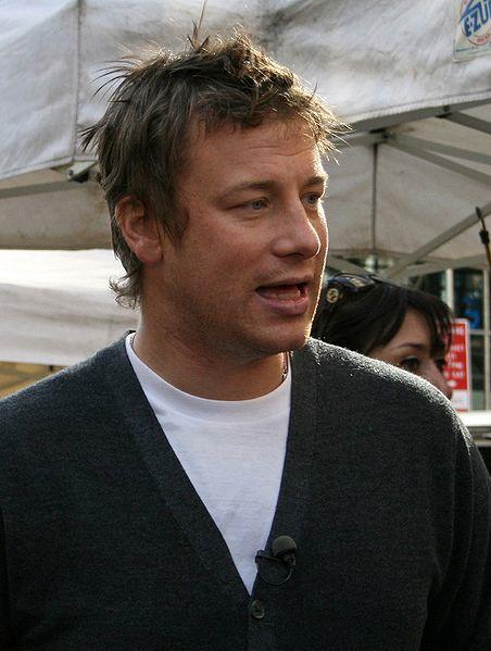 Smug Jamie Oliver being smug
