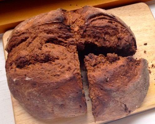Treacle Ginger Soda Bread
