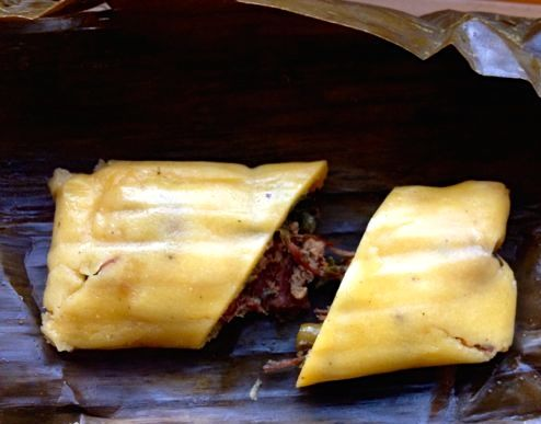 Trinidad Christmas Pastelles