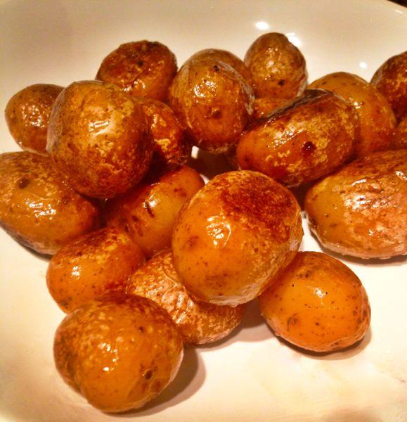 Slow Cooker Confit Potatoes