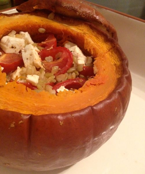 Slow Cooker Whole Pumpkin