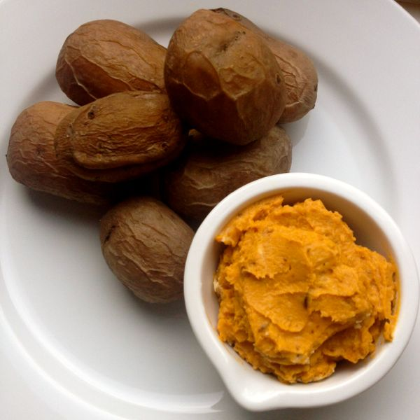 Slow Cooker Wrinkled Potatoes