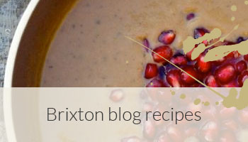 Brixton blog recipes