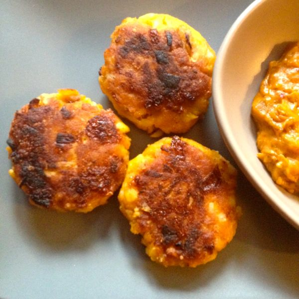 Hominy Corn Patties