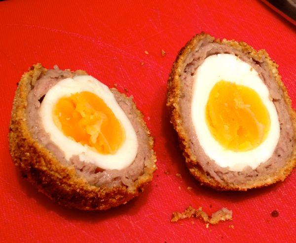 Gari Coated Scotch Eggs