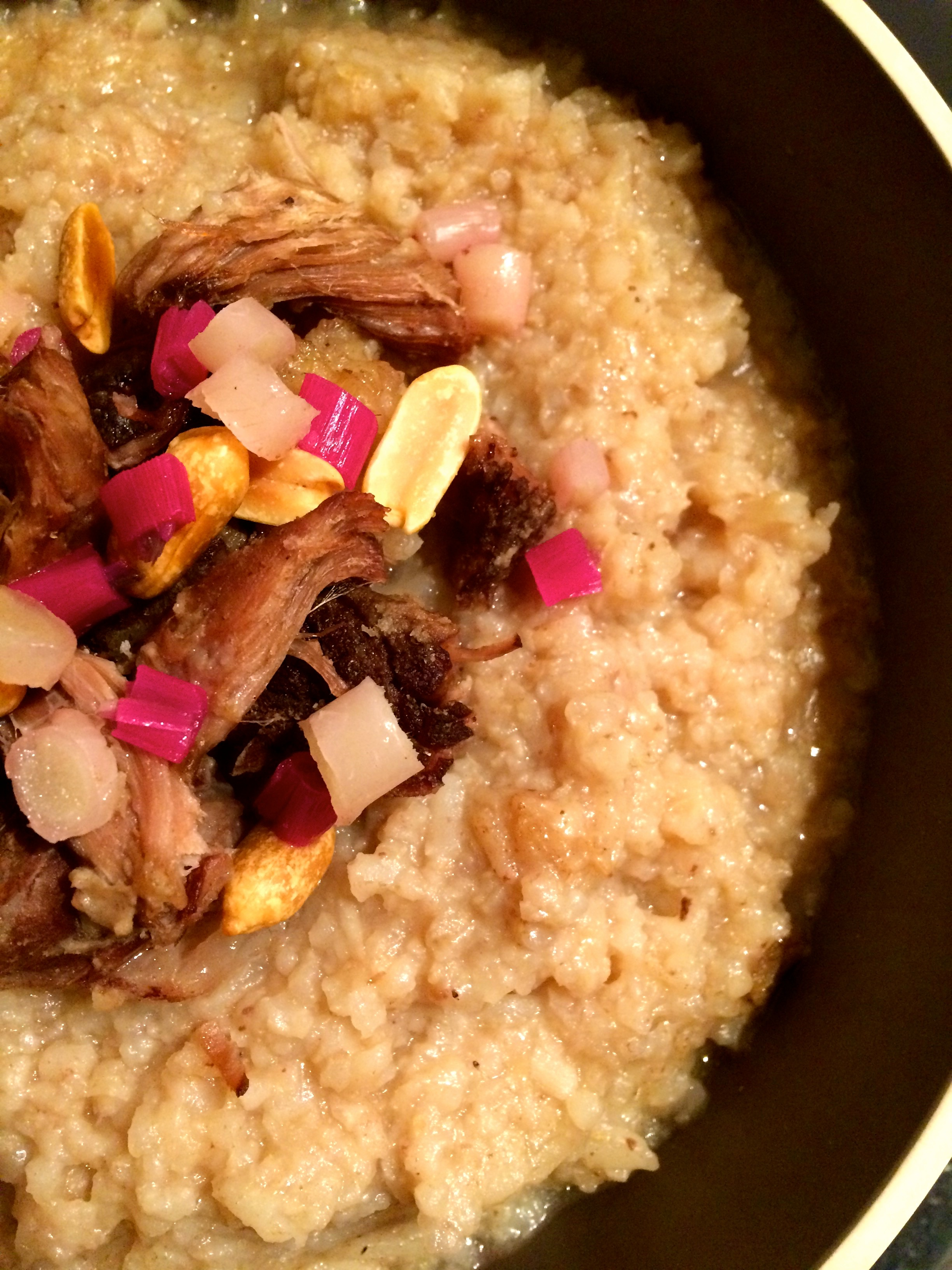 Slow Cooker Beef and Miso Congee