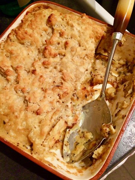 Vegan Fodmap Friendly Roasted Vegetable Suet Pie