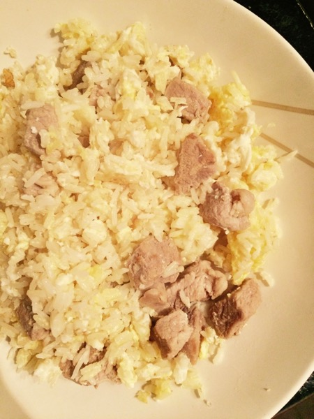 Egg Fried Rice with pork